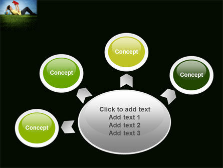 Reading Student PowerPoint Template Slide 7