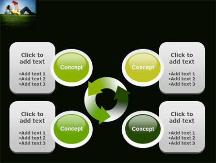 Reading Student PowerPoint Template Slide 9