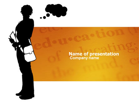 Select of School PowerPoint Template, 03764, Education & Training — PoweredTemplate.com
