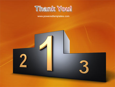 Winner Place PowerPoint Template Slide 20