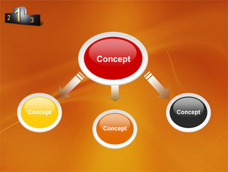 Winner Place PowerPoint Template, Slide 4, 03765, Business Concepts — PoweredTemplate.com
