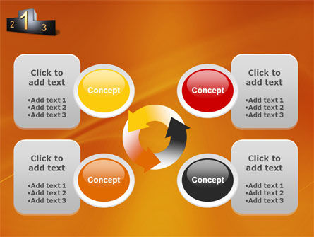 Winner Place PowerPoint Template Slide 9