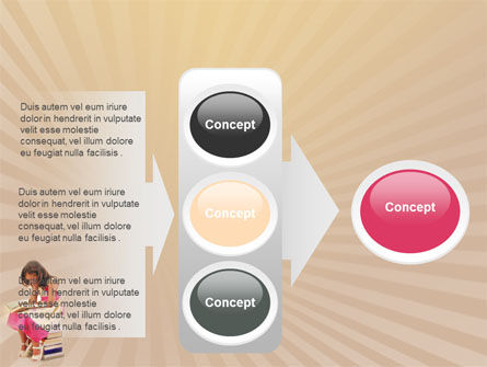 Reading Book PowerPoint Template Slide 11