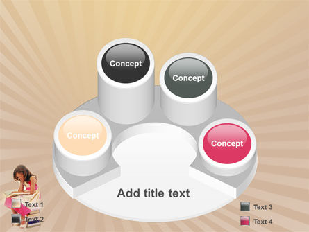 Reading Book PowerPoint Template Slide 12