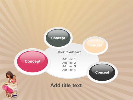 Reading Book PowerPoint Template Slide 16