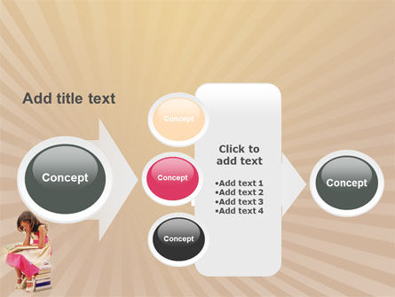 Reading Book PowerPoint Template Slide 17