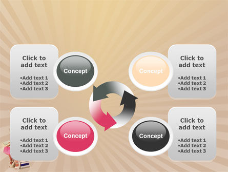 Reading Book PowerPoint Template Slide 9