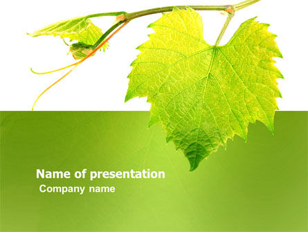 Green Flora PowerPoint Template