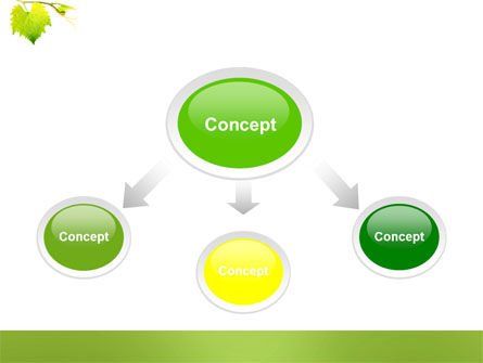 Green Flora PowerPoint Template Slide 4