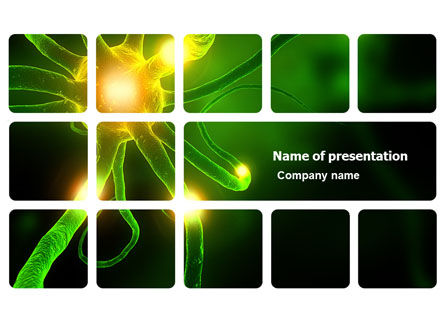 Nerve PowerPoint Template, 03777, Medical — PoweredTemplate.com