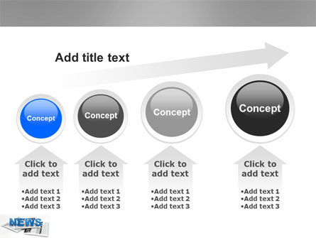 Newspaper PowerPoint Template Slide 13