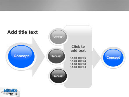 Newspaper PowerPoint Template Slide 17