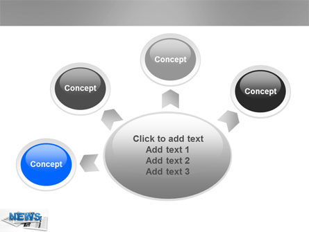 Newspaper PowerPoint Template Slide 7