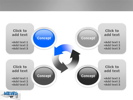 Newspaper PowerPoint Template Slide 9