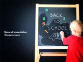 Education & Training: School Start PowerPoint Template #03780