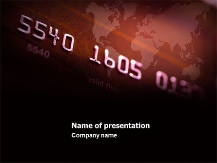 Electronic Payment Card PowerPoint Template