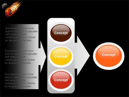 Free Comet PowerPoint Template Slide 11