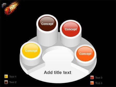 Free Comet PowerPoint Template Slide 12
