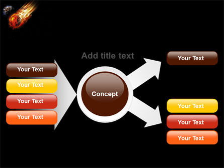 Free Comet PowerPoint Template Slide 14