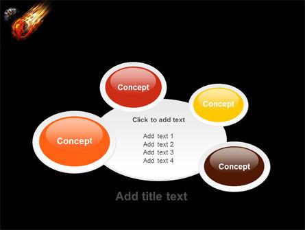 Free Comet PowerPoint Template Slide 16