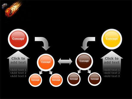 Free Comet PowerPoint Template Slide 19