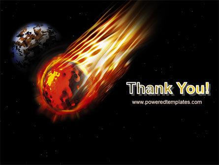 Free Comet PowerPoint Template Slide 20