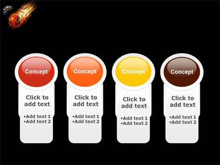 Comet Free PowerPoint Template Slide 5