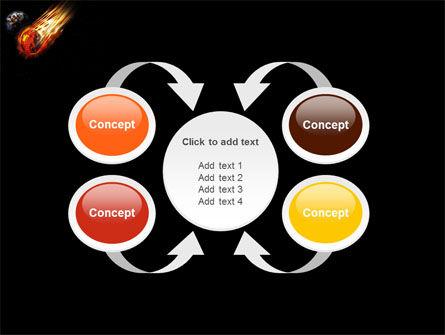 Free Comet PowerPoint Template Slide 6