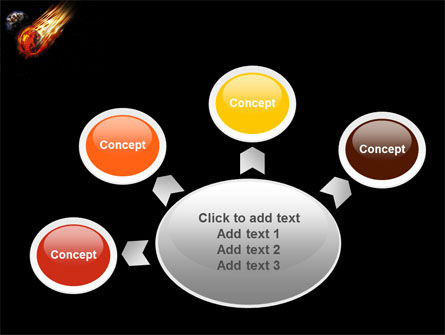 Free Comet PowerPoint Template Slide 7