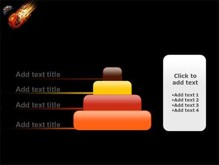 Free Comet PowerPoint Template Slide 8