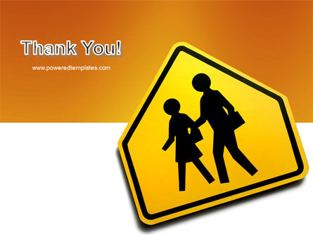 School Crossing PowerPoint Template Slide 20