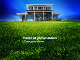 Construction: Country Ranch PowerPoint Template #03786