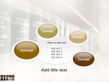Law Books PowerPoint Template Slide 16