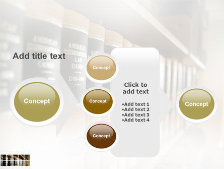 Law Books PowerPoint Template Slide 17