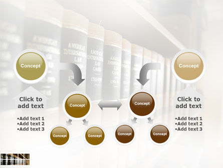Law Books PowerPoint Template Slide 19
