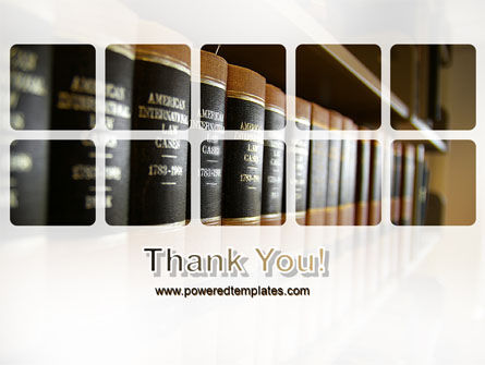 Law Books PowerPoint Template Slide 20