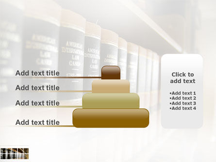 Law Books PowerPoint Template Slide 8