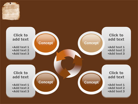 Old Paper Theme PowerPoint Template Slide 9