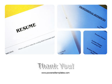 Resume PowerPoint Template Slide 20