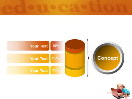 Long Distance Computer Education PowerPoint Template Slide 11