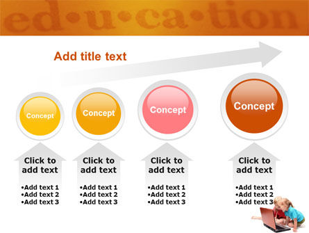 Long Distance Computer Education PowerPoint Template Slide 13