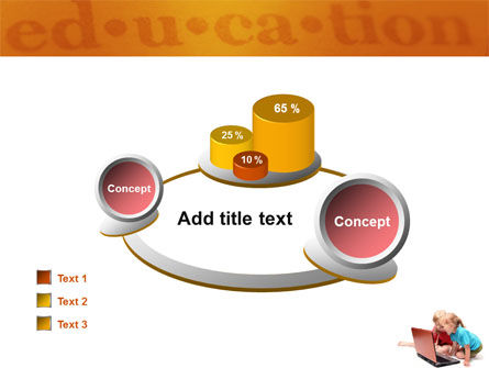 Long Distance Computer Education PowerPoint Template Slide 16