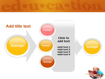 Long Distance Computer Education PowerPoint Template Slide 17