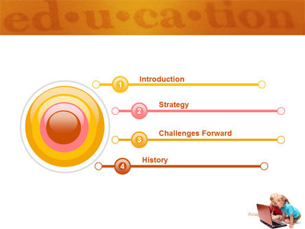 Long Distance Computer Education PowerPoint Template Slide 3