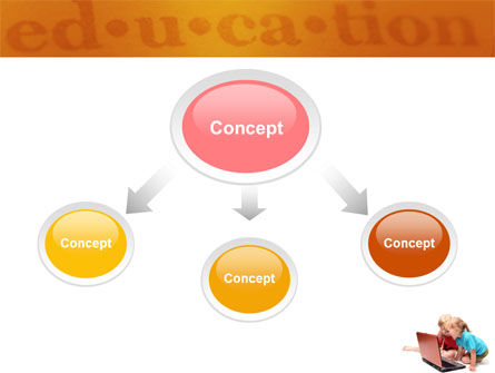 Long Distance Computer Education PowerPoint Template Slide 4