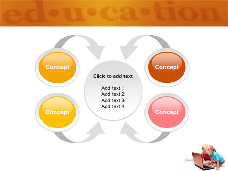 Long Distance Computer Education PowerPoint Template Slide 6