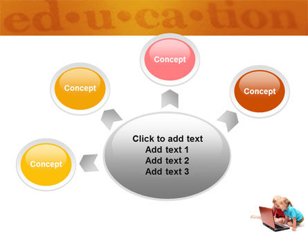 Long Distance Computer Education PowerPoint Template Slide 7