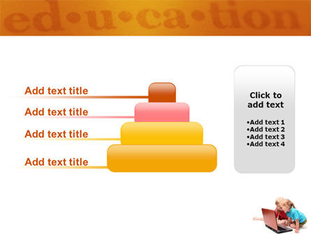 Long Distance Computer Education PowerPoint Template Slide 8