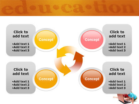 Long Distance Computer Education PowerPoint Template Slide 9