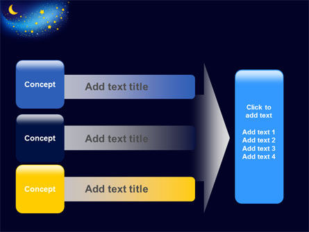 Starry Night PowerPoint Template Slide 12